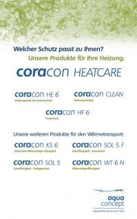 ökologische Solarflüssigkeit BIO-Glykol CORACON SOL EKO F / 10kg bis +214°C - Vorschau 3