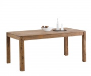 Esszimmertisch Boston Sheesham Natur 178x90 cm Massivholz Esstisch