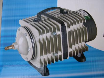 Profi Teichbelüfter mit 14400 L/h Belüfter Sauerstoffpumpe Kolbenpumpe Koiteich - Vorschau 2