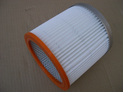 Filter Filterelement für Thomas Naß-/Trocken Sauger Faltenfilter