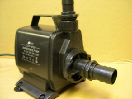 Resun Bachlauf- u- Filterpumpe 6000 l/h Bachlaufpumpe Teichfilter - Pumpe