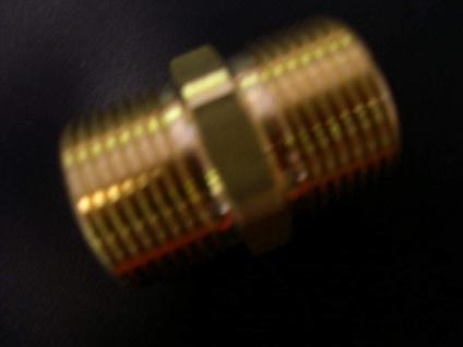 Doppelnippel HD- Schlauch - Verbinder Wap Dampfstahler