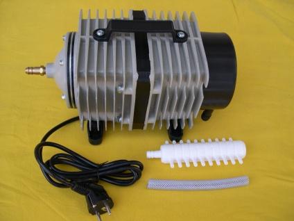 Profi Teichbelüfter mit 14400 L/h Belüfter Sauerstoffpumpe Kolbenpumpe Koiteich - Vorschau 1