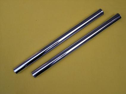Saugrohr 2 x 0, 5m DN35 Metall verchromt für Kärcher andere NT Sauger Staubsauger