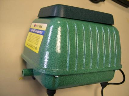 Membranpumpe 9000 Liter Teichdurchlüfter Sauerstoffpumpe für Koi - u Gartenteich