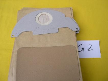 10 Staubsaugerbeutel für Kärcher 6.904-143 Filterbeutel Filtersäcke Staubbeutel