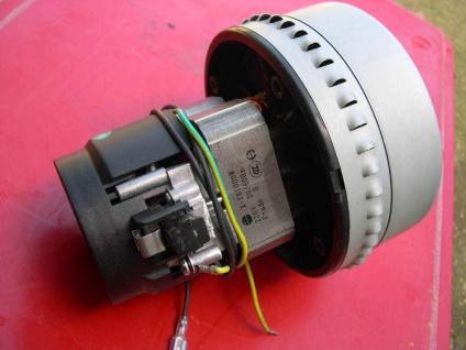 1, 2 KW Motor Turbine Saugmotor Saugmotor Saugturbine Carrera ISSA-Mistral