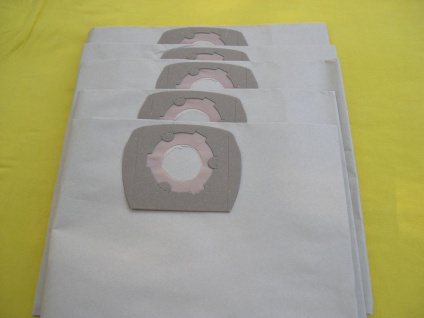 7 Filtersäcke Staubsaugerbeutel für Wap Turbo XL Euro 25 SW IH K1 KI 0 - 14896