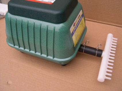 R Profi Teichbelüfter 4200 l/h Belüfter Durchlüfter Sauerstoffpumpe Luftpumpe