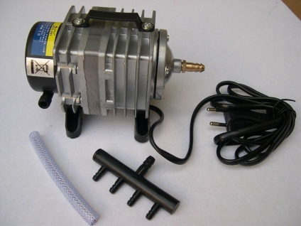 ACO Belüfter 2280 l/h Luftpumpe Belüfter Durchlüfter für Ausströmer Gartenteich - Vorschau 2
