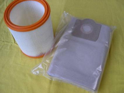 Set 5x Filtersack + 1x Filterelement für Wap Turbo 1001 und 1001 Euro Sauger