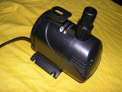 Profi - Filterumpe 10000 L/h für Teichfilter Bachlaufpumpe Wasserfallpumpe etc.