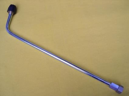 2m Lanze 75° M18 aufschraubbar auf Kärcher HD HDS Hochdruckreiniger Strahlrohr