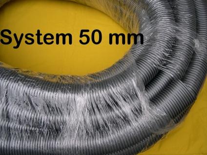 1-20m Saugschlauch 0- 11984 System 50 mm für Wap Alto Nilfisk Festo Sauger - Vorschau 1