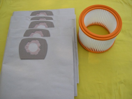 10x Staubsaugerbeutel + Filter für Wap Alto Turbo XL XL25 Euro SQ 550-11 Sauger