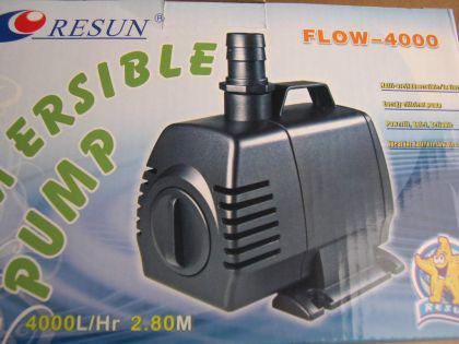 Resun Flow 4000 Teichfilterpumpe Bachlaufpumpe