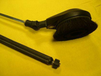 Gelenkwaschbürste rotierend Autowaschbürste Kärcher HD HDS u. Kränzle Hochdruckreiniger - Vorschau 1