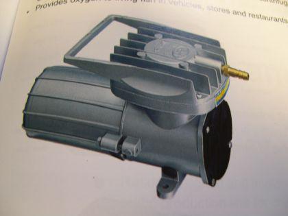 Resun MPQ -905 12V Transportbelüfter für Fische