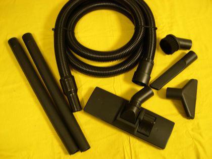 2,5m Saugschlauch - Set 9-tg 40mm Einhell RT-VC 1500 1600 E Inox Duo 1250 Sauger Saugset - Vorschau