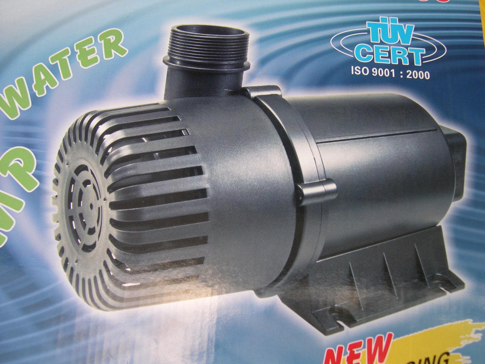 Profi filterspeisepumpe 18000 l h f teichfilter filter for Gartenteich ohne filter