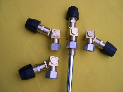 240° Knickgelenk Gelenk M18 für Kärcher HD HDS Hochdruckreiniger Düse Lanze