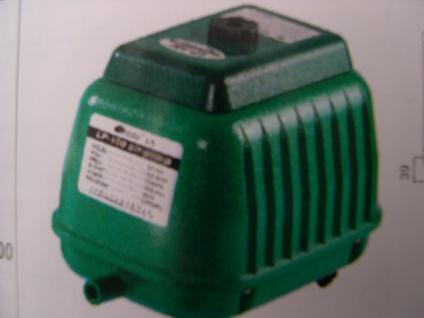 Membran- Luftpumpe 9000 L/h Belüfter Sauerstoffpumpe f Ausströmer Teich Koiteich - Vorschau