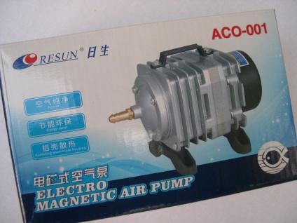 ACO Belüfter 2280 l/h Luftpumpe Belüfter Durchlüfter für Ausströmer Gartenteich