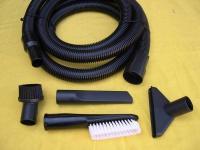 3m Saugset 7-tlg DN32 mit 40mm Saugschlauch für Wap Alto Industriesauger Sauger