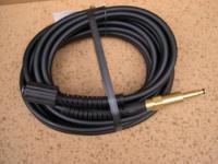 10m DN6 Hochdruckschlauch M22x1, 5 / 8, 8mm - Stecknippel Kärcher für Hochdruckreiniger - Pistole