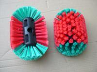 Felgenbürste mit Wasserdurchlauf Waschbürste für Autofelgen Auto Track Bus Wohnwagen