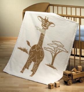 Tagesdecke aus Bio-Baumwolle Giraffe
