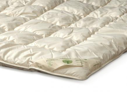 Doppel- Schlafdecke Schafschurwolle - Vorschau 4