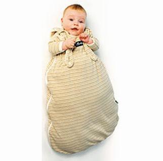 Öko Baby Schlafsack Innensack Wolle