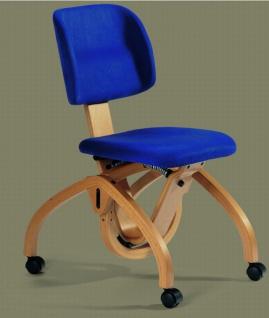 Ergonomischer Schreibtischstuhl mit Rollen
