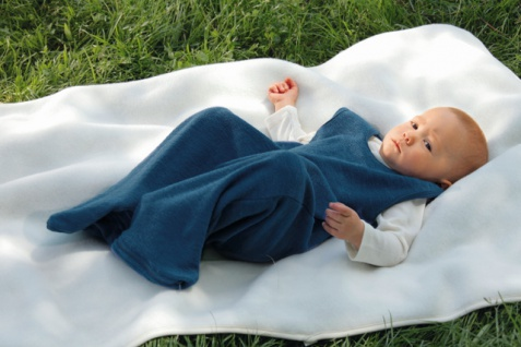 Baby Schlafsack aus Öko-Frottee