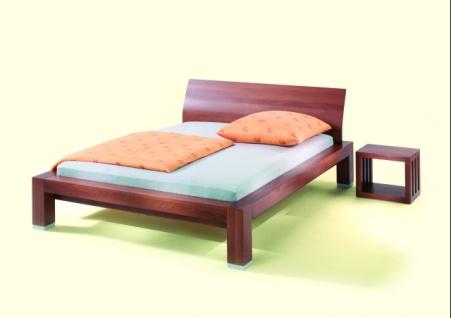 Naturholz Doppelbett