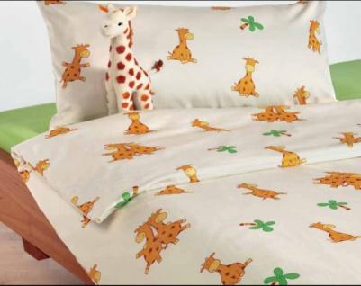 Bio-Kinderbettwaesche Giraffe