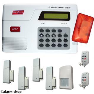 SAZ-2500 Funk Alarmanlagen Set 21 teilig