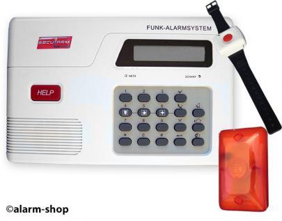 Hausnotruf Paniksystem Sicherheitsanlage Notruftelefon Seniorentelefon Einbruch