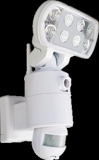 Außenbeleuchtung LED Fluter mit Bewegungsmelder und Kamera Versteckt Mini Spion