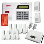 GSM Funk Alarmanlage Haus Set Haus Bewegungsmelder Bildschirm Fernbedienung