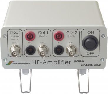 Hochfrequenzverstärker ( HF-Verstärker ) - Vorschau 1