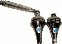 Original Martin Wasserwirbler 2er Set = Wasserhahnvorsatz + Handdusche verchromt