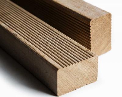 Hartholz Unterkonstruktion 45 x 70 mm für Holzterrassendielen