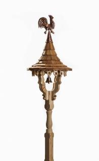 Glockenturm/Glockenstuhl GL4 in Fichten- und Lärchenholz handgefertigt