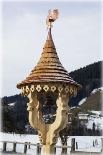 Glockenturm/Glockenstuhl GL7a in Fichten- und Lärchenholz handgefertigt