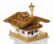 """Vogelfutterhaus """"Tiroler Bauernhaus"""" aus Holz"""