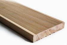 Edelholz Garapa Terrassendielen fein/geriffelt oder glatt gehobelt - KURZLÄNGEN - Palettenpreis