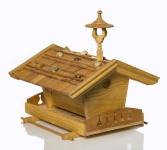 "Vogelfutterhaus/Vogelhaus "" Tiroler Alm"" aus Holz"