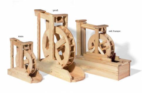 Wasserrad/Wassermühle aus Holz